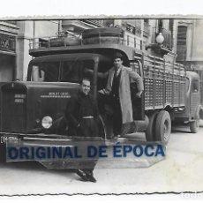 Postales: (PS-66292)FOTOGRAFIA DE VINAROZ-CAMION BERLIET.FOTO ISIDORO VIDAL. Lote 287496388