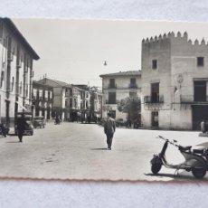 Cartes Postales: 21 PLAZA P LEANDRO CALVO VESPA GANDIA VALENCIA GARCIA GARRABELLA NUEVA SIN CIRCULAR. Lote 287541268