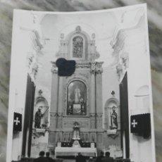 Postales: FOTOGRAFIA DE LA VISITA DEL GOBERNADOR A LA ISLA DE TABARCA, ALICANTE, FOTO HERMANOS GARCIA. MIDE 18. Lote 287639383