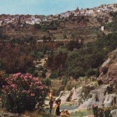 Postales: CASTELLON, LUCENA DEL CID VISTA DESDE EL RIO. ED. COMAS ALDEA Nº 4. AÑO 1963. SIN CIRCULAR. Lote 287775993