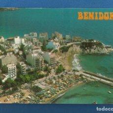Postales: POSTAL SIN CIRCULAR BENIDORM 160 ALICANTE EDITA POSTALES HERMANOS GALIANA. Lote 287935373