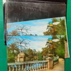 Postales: CASTELLON Nº 3206 PARQUE DETALLE ESTANQUE / POSTAL /NEGATIVOS / PRUEBA COLOR / EDI. PERGAMINO. Lote 288325043