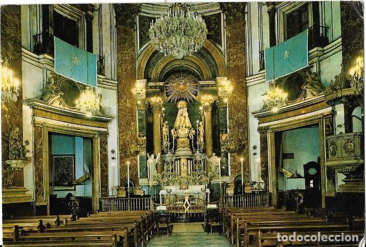 *** D967 - POSTAL - VALENCIA - SERIE 19 - 285 - BASILICA DE LA VIRGEN DE LOS DESAMPARADOS (Postales - España - Comunidad Valenciana Moderna (desde 1940))