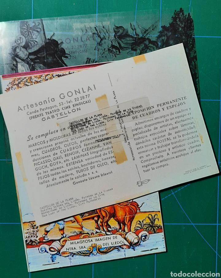 Postales: CASTELLON / NTRA. SRA. DEL LIDÓN / POSTAL /NEGATIVOS / PRUEBA COLOR / EDI. PERGAMINO - Foto 2 - 288384013