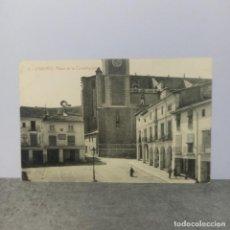 Postales: POSTAL DE SAGUNTO - PLAZA DE LA CONSTITUCION - FOTOTIPIA THOMAS BARCELONA. Lote 288692118