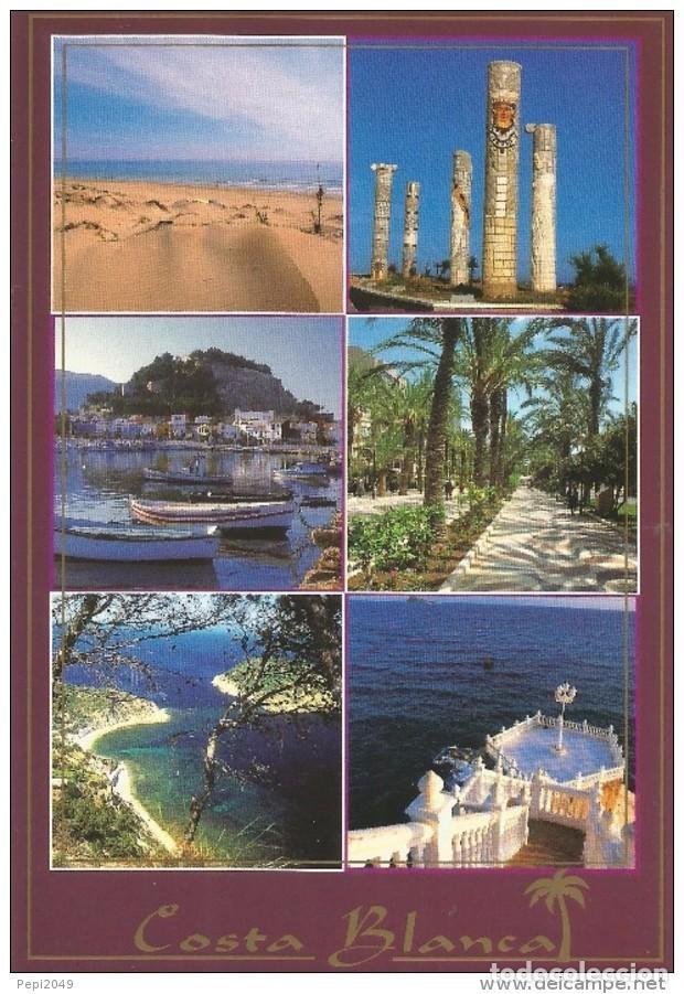 *** PH1214 - POSTAL - COSTA BLANCA - VARIAS VISTAS (Postales - España - Comunidad Valenciana Moderna (desde 1940))