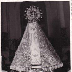 Postales: FOTOGRAFÍA 11,50 X 9 CM VIRGEN FOTOS SIMEÓN BENIDORM. ALICANTE. Lote 289315973