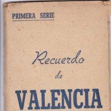 Postales: VALENCIA. BLOC POSTAL COMPLETO CON 16 VISTAS EN HUECOGRABADO. EDICIONES JDP. Lote 289746518