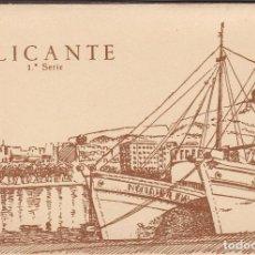 Postales: ALICANTE, BLOC POSTAL EN ACORDEON CON 9 POSTALES. ED. JUQUEMO FOTO HUESCA. Lote 289881473