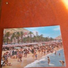 Postales: ANTIGUA POSTAL DE ALICANTE, PLAYA DEL POSTIGUET. Lote 293255148