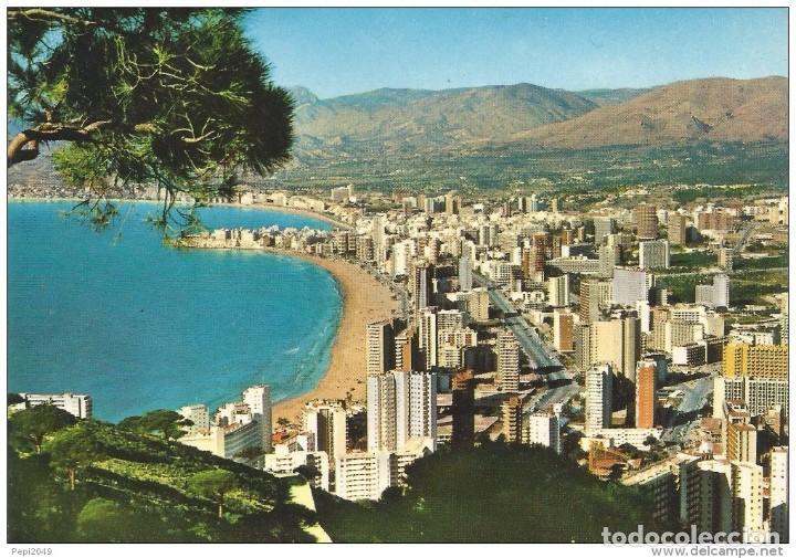 *** PV149 - POSTAL - BENIDORM - VISTA GENERAL (Postales - España - Comunidad Valenciana Moderna (desde 1940))