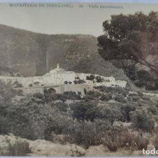 Postales: PORTA COELI MONASTERIO VALENCIA VISTA PANORAMICA FOTOGRAFICA. Lote 293997473
