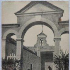Postales: LIRIA MONASTERIO ENTRADA AL PATIO DE LA IGLESIA. Lote 293997638