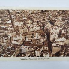 Postales: P-12890. POSTAL VALENCIA, PANORAMICA DESDE UN AVION.. Lote 294370648