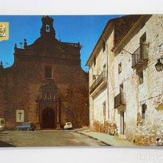 Postales: VILLAFAMES (CASTELLÓN) POSTAL NO.2, IGLESIA PARROQUIAL NTRA. SRA. DE LÁ ASUNCIÓN.. ESCUDO DE ORO. Lote 295408773