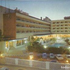 Postales: [POSTAL] HOTEL BAYREN. NOCTURNA. GANDÍA (VALENCIA) (SIN CIRCULAR). Lote 295491693