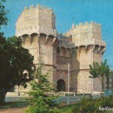 Postales: [POSTAL] TORRES DE SERRANOS. VALENCIA (CIRCULADA). Lote 295492678