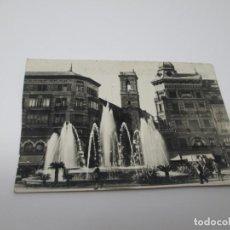 Postales: PLAZA DE LA REINA DE VALENCIA - AÑOS 50. Lote 295529368