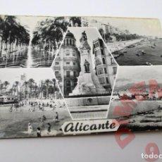 Postales: ALICANTE AÑOS 50. Lote 295529578