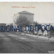 Postales: (PS-66566)POSTAL DE BURRIANA-ESTACION DE TRANVIA. Lote 295705068