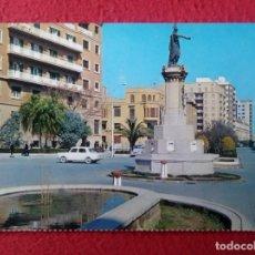 Postales: POSTAL CASTELLÓN MONUMENTO A D. JAIME EL CONQUISTADOR, EDITA FARDI, COCHES, CITROEN 2CV, VESPA..?.... Lote 295775813