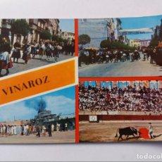 Postales: POSTAL - VINAROZ - FIESTAS DE SAN JUAN Y SAN PEDRO. Lote 295801243