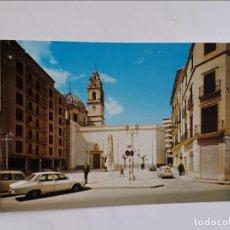 Postales: POSTAL - CARCAGENTE VALENCIA - PLAZA DEL CAUDILLO 625. Lote 295820498