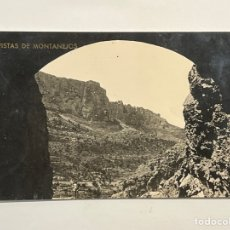Postales: MONTANEJOS (CASTELLÓN) POSTAL VISTAS DE MONTANEJOS. LA INDUSTRIAL FOTOGRAFÍCA (A.1946). Lote 296774928
