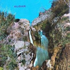Postales: ALGAR (BENIDORM). 183SALTO DE AGUA. RUBECK. NUEVA. COLOR. Lote 297095323