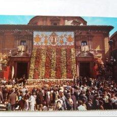 Postales: POSTAL - VALENCIA - PLAZA DE LA VIRGEN - OFRENDA - S/C. Lote 297160788