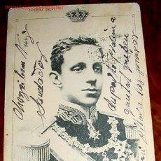 Postales: ANTIGUA POSTAL DE ALFONSO XIII - TARJETA SALVI . 17 DE MAYO DE 1902 . UNION POSTAL UNIVERSAL - SIN . Lote 881841