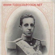 Postales: TARJETA POSTAL ANTIGUA DE ALPHONSE XIII, ROI D'ESPAGNE. Lote 13626567