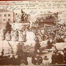 Postales: ANTIGUA POSTAL DEL CARNAVAL DE NIZA (FRANCIA) EN 1928.. Lote 944233