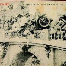 Postales: ANTIGUA POSTAL DEL CARNAVAL DE NIZA (FRANCIA) EN 1908.. Lote 940363