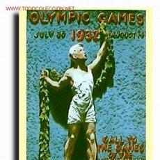 Postales - Postal. Cartel Olimpiada de Los Angeles (California) 1932 - 26856827