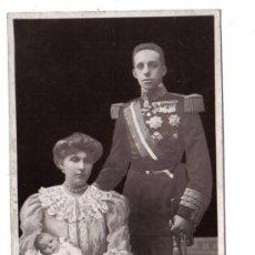 Postales: KING & QUEEN OF SPAIN & INFANT. Lote 3725752