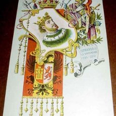 Postales: ANTIGUA POSTAL REY FERNANDO IV EL EMPLAZADO 1295-1312- REYES DE ESPAÑA, MONARQUIA - TARJETA POSTAL A. Lote 5359821