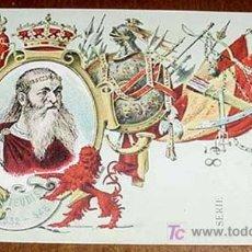 Postales: ANTIGUA POSTAL REY GODO TEUDIS 532-548 - REYES DE ESPAÑA, MONARQUIA - TARJETA POSTAL ARTISTICA ESPAÑ. Lote 5359860