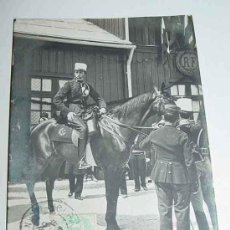 Postales: ANTIGUA POSTAL S. M. EL REY DON ALFONSO XIII EN A CHALONS - MONARQUIA - CIRCULADA.. Lote 8707633