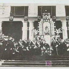 Postales: ANTIGUA POSTAL S. M. EL REY DON ALFONSO XIII - EN LA EXPOSICION REGIONAL VALENCIANA - INAGURACION OF. Lote 10576877