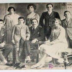 Postales: ANTIGUA POSTAL DE LA FAMILIA REAL LOS REYES Y SUS HIJOS - NO CIRCULADA - ED. HELITIOPIA ARTISTICA ES. Lote 8481038