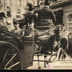 Postales: VISITE DE S.M. ALPHONSE XIII A PARIS. CIRCULADA 1905.. Lote 12494906
