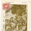 Postales: POSTAL QUIJOTE Nº 5 SERIE ESPECIAL - CIRCULADA AÑO 1905 - . Lote 27456644