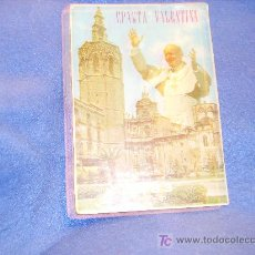 Postales: POSTAL VISITA JUAN PABLO II VALENCIA 1983. Lote 26556549