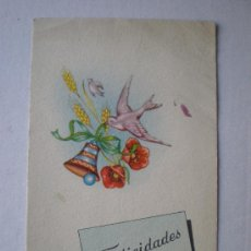 Postales: PD SERIE 1011. FELICIDADES.. Lote 6404858