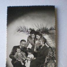 Postales: 60 / 2. POSTAL FAMILIAR DE FELICITACION. FECHADA EL 19 - 09- 1949. . Lote 6405032