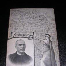 Postales: J. VERDAGUER, INSIGNE POETA. Lote 10159163