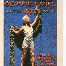 Postales - Postal Juegos Olimpicos Los Angeles 1932 VENCA - 6716388
