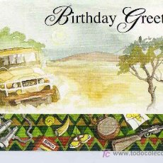 Postales: POSTAL BIRTHDAY GREETINGS. Lote 7225070