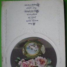 Postales: BIRTHDAY GREETINGS. SERIES 2165 F. (INGLATERRA). Lote 12393421